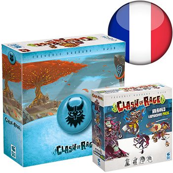 Clash of Rage KS (+ Godleif sleeve) <div class='flag-fr'></div><span class='red'>FRENCH</span>