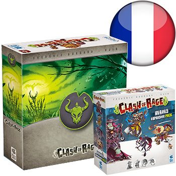 Clash of Rage KS (+ Tomb sleeve) <div class='flag-fr'></div><span class='red'>FRENCH</span>