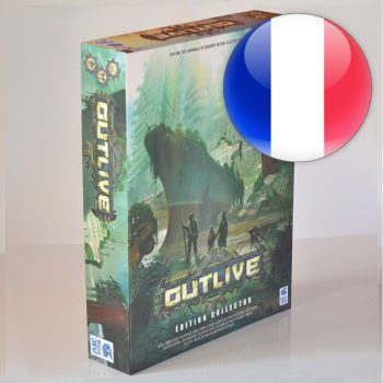 Outlive (deluxe Kickstarter) <span class='red'>without the KSE stretch goals</span><div class='flag-fr'></div><span class='red'>FRENCH</span>
