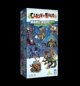 Clash of Rage Heroes expansion (Kickstarter)